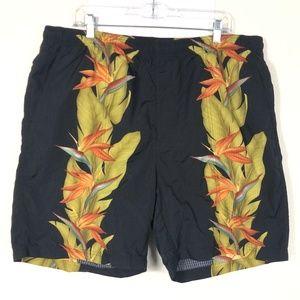 Tommy Bahama Men's Floral Swim Shorts Trunks COK
